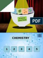 Science Quiz Bowl