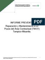 JAGUAR-Informe Preventivo Tampico Misantla