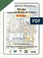 Por Uma Educação Do Campo - Vol. 1 - I Conferência Por Uma Educação Básica Do Campo - 1998