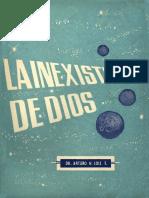 Inexistencia de DIOS