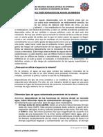 Evaluacion y Restauracion de Aguas en Mineria