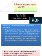 2.Interaksi Antarnegara-negara ASEAN