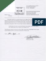 Motion To Deny Bond Modification April 9 2019