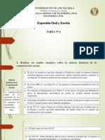 Tarea 6 Expresión Oral y Escrita