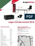 designfunktion Sonderverkauf Magazin 2010