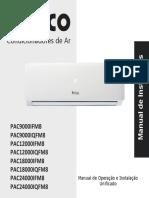 Manual Ar Cond Pac9000 24000ifm8