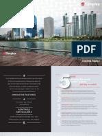 Simplex Panel Overview Brochure