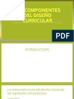 Los Componentes Del Diseño Curricular -Autoguardado
