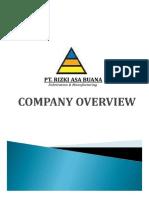01-Company Profile - Pt Rizki Asa Buana