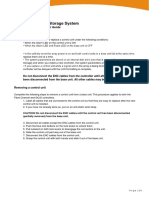Hitachi AMS 2100 Storage System - Control Unit Replacement Guide