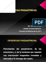 Urgencias Psiquiatricas - Dra Hansen