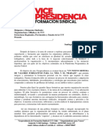 Vicepresidencia Formación Sindical CUT - Marco de Referencia Formativa