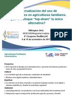 """Universalización del uso de biodigestores en agriculturas familiares. Es el enfoque """"top-down"""" la única alternativa?"""