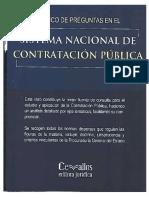 Banco de Preguntas Sistema Nacional de Contratacion Publica
