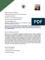 CV Federico García Serrano