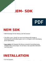 NEM- SDK