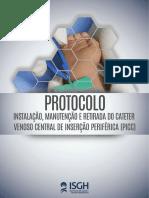 protocolo instalação e manutenção do cateter PICC