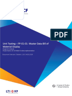 4136 02 ICF S4HANA UT PP 01 02 Master Data Bill of Material Display V1.0