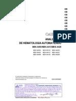 Manual MEK6400