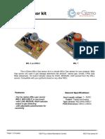MQ-x Gas Sensor Technical Manual