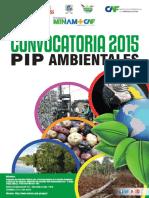 Bio Bases Pip-Ambientales 2015