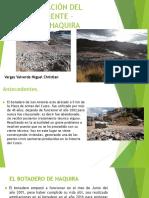 Contaminación Del Medio Ambiente - Botadero Haquira