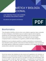 Bioinformática y Biología Computacional