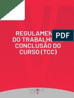 Regulamento Do Trabalho de Conclusão de Curso (TCC) Fev2019