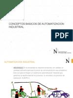 Diapositiva 1 Conceptos Basicos de Automatizacion
