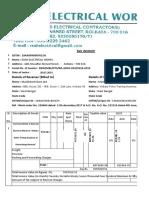 Final Bill Substation Kamardanga.25.7.19