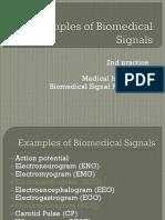 Sources of Biomedical Signals