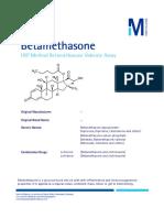 USP Betamethasone MM
