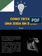 Mosaico_Criativo_Ebook - Como Testar Uma Ideia Em 5 Dias