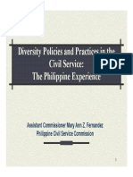 Diversity Policies and Practices in the CS
