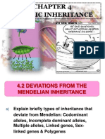 4.2 Deviations From The Mendelian Inheritance.pptx