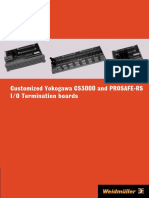 Yokogawa IO Interfaces Catalogue 2009
