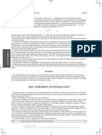 Uniformity of Dosage Units