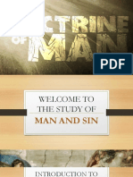 Lesson 1 - An Introduction to Man and Sin