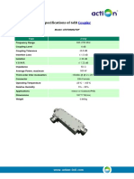 Specifications of 6dB Coupler(AT07060627DF_20141030)