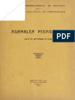 Asamblea pedagógica1926