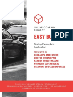 Easy Busy Finding Parking Lots - Online Company Project