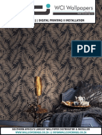 WCI Wallpapers Pty Ltd 2018 Wall Coverings Catalogue