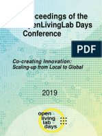 OpenLivingLab Days 2019 Conference Proceedings