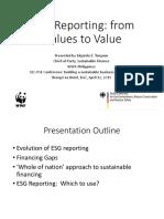 ESG Discussion