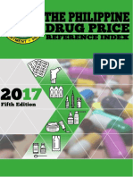 Drug Price Reference Index 2017 Philippines