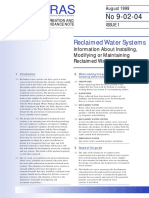 WRAS Reclaimed Water Systems
