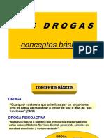 7.-Drogas, Clasificacion, Conceptos Basicos