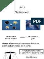 3.Bab3.1 Stoikiometri