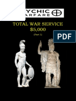 Total War Service Part 1