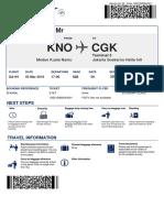 boarding pasa